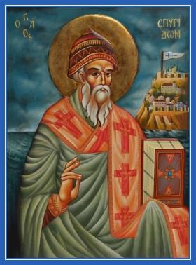 Святитель Спиридон - икона