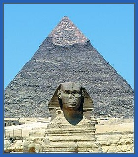 Фараон, пирамида