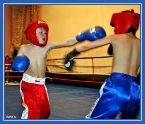 Дети, драка, бокс, спорт