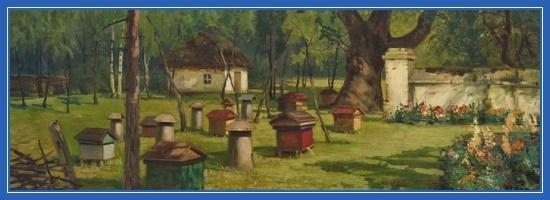 Пчельник, ульи, пчеловодство