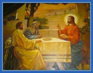 Преломление хлеба. Явление Луке и Клеопе. Эммаус