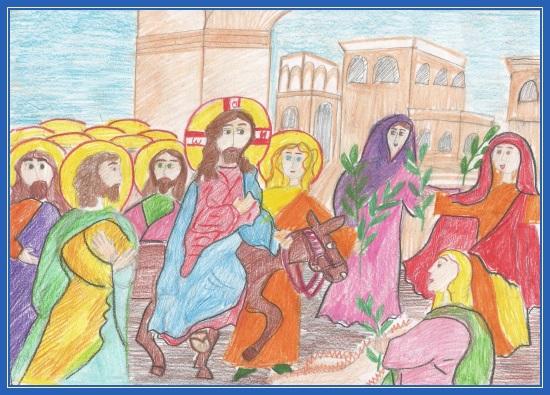 Вход Господень в Иерусалим - Катя Романова