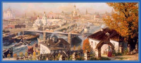 Москва - картина столицы
