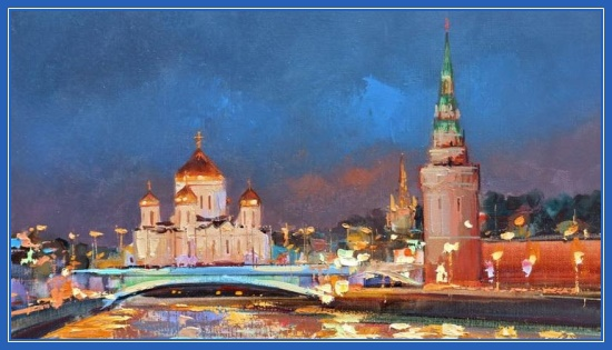 Москва - картина