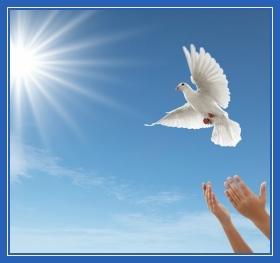 Голубь, душа, Небо