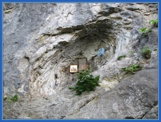 Место обретения главы Иоанна Предтечи, Абхазия