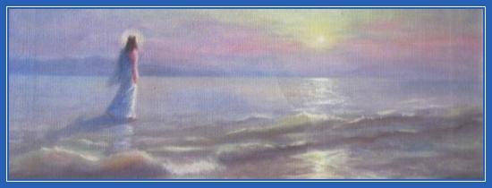 Хождение по водам, Иисус Христос