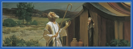 Три Ангела, три Путника в гостях у Авраама