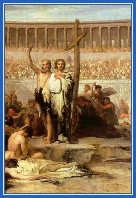 Первые христиане, Мученики