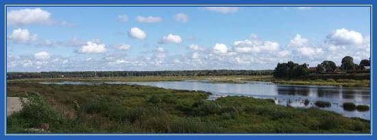 Пейзаж, река