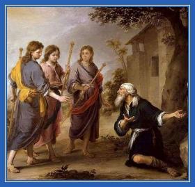 Явление святой Троицы, Аврааму