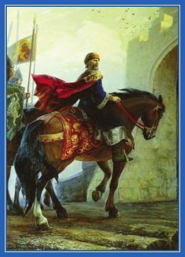Князь, конь, всадник