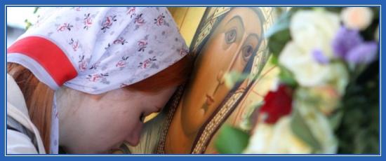 Молитва, Богородица