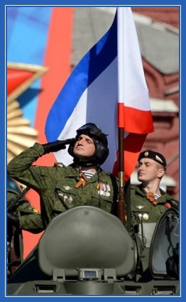 Парад, патриотизм, танкисты