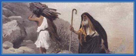 Исаак и Авраам