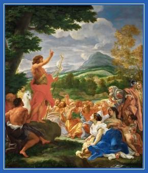 Иоанн Креститель, проповедь,