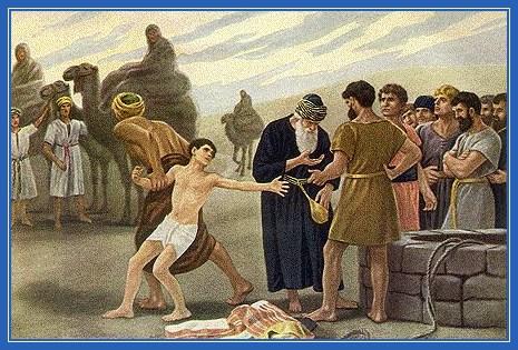 Иосифа продают в рабство