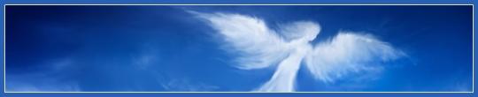 Ангел в небе, летающий