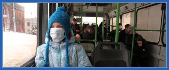 Болезнь, маска, грипп
