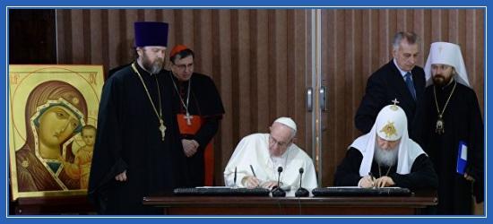 Патриарх и Папа Римский