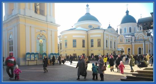 Покровский монастырь, святая Матрона Московская