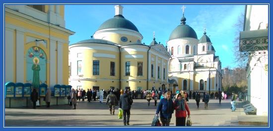 Покровский монастырь, поездка, Святая Матрона