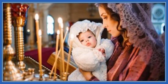 Мама и ребенок, храм, Крещение, младенец, церковь