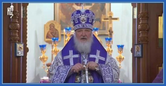 Патриарх Кирилл - проповедь