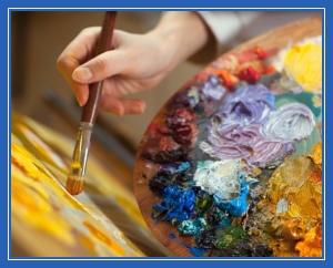 Творчество, свобода, кисть, творить, рисовать, краски