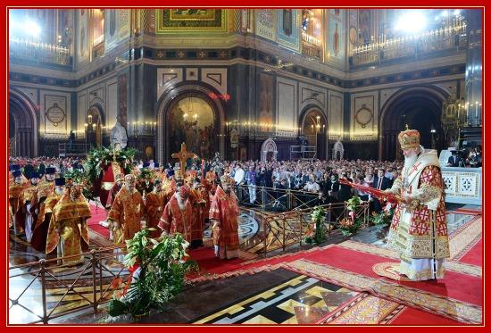 Пасха Христова, Храм Христа Спасителя