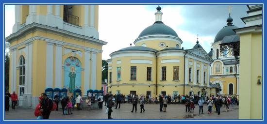 Посещение Покровского монастыря