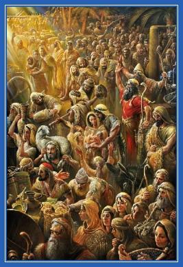 Исход евреев, евреи, Моисей