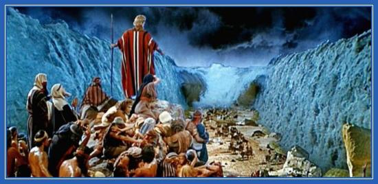 Моисей, исход, евреи, море