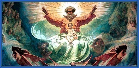 Святая Троица, Бог Отец, Бог Сын, Бог Дух Святой