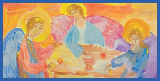 Святая Троица, праздник, рисунок