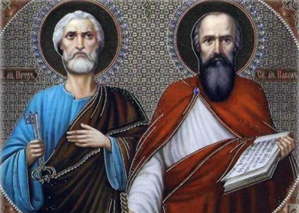 Слово в день святых первоверховных апостолов Петра и Павла