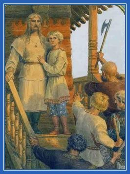 Мученик Феодор и Иоанн в Киеве