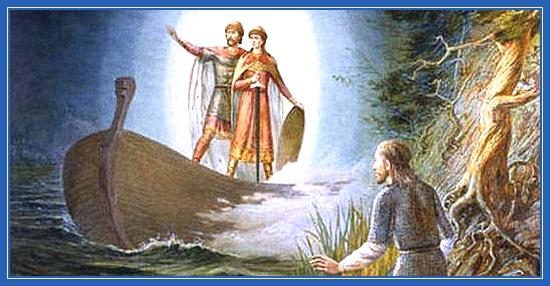 Борис и Глеб, братья, князья, святые