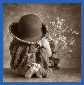 Девочка, в шляпе, прятки, ребенок