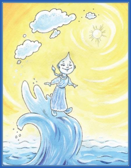 Капля в море. рисунок