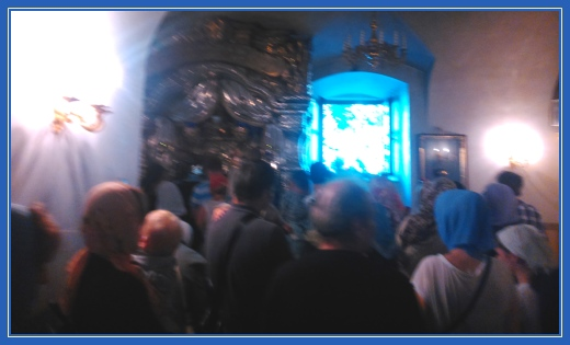 Покровский монастырь, Мощи блаженной Матроны