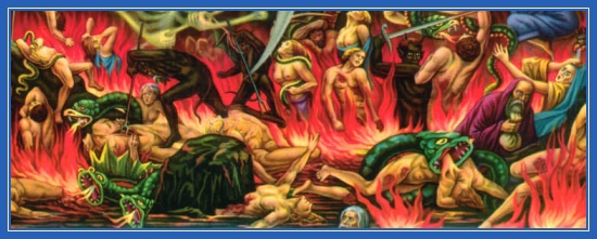 Вечные мучения, ад, Страшный суд, муки