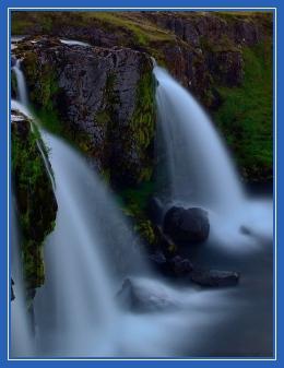 Два ручья, водопад