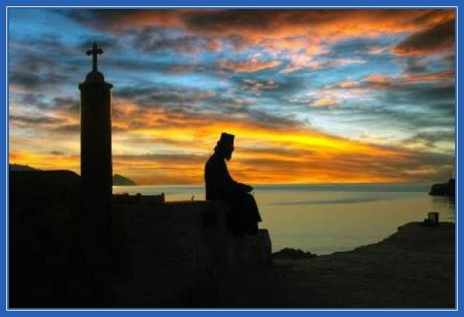 Молитва, гора Афон