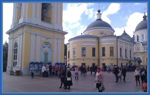 Монастырская площадь