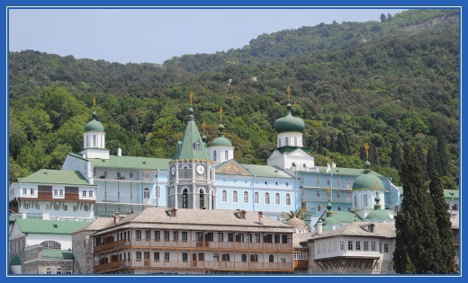 Пантелеимонов монастырь, Афон