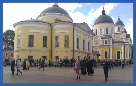Площадь монастыря