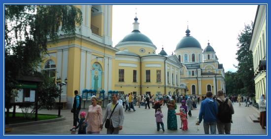 Покровский монастырь, сентябрь, праздник