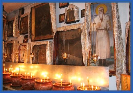 Старец Павел Таганрогский, икона