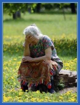 Старуха, бабушка
